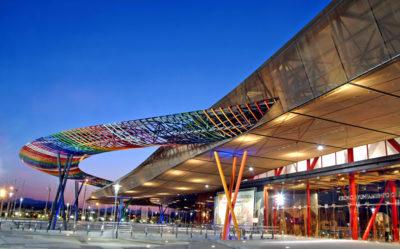 Exteriores de FYCMA - Palacio de Ferias y Congresos de Málaga