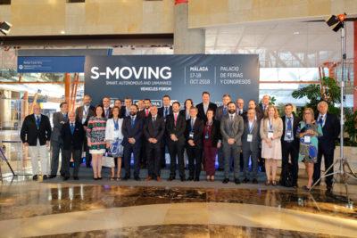 Foto de familia de la primera edición de S-Moving Forum