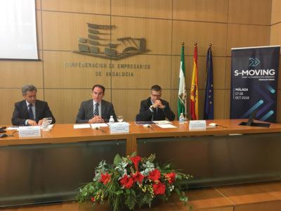 Presentación de S-Moving en la Confederación de Empresarios de Andalucía